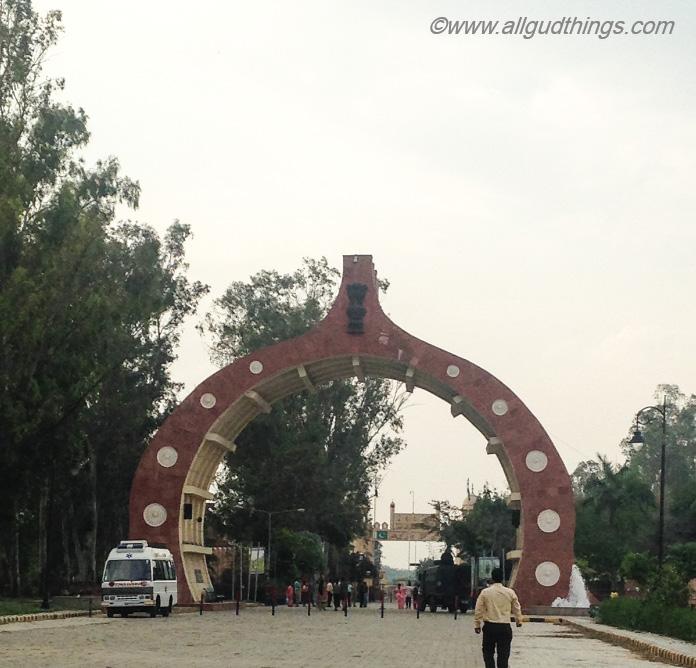 Entrance to Hussainiwala Border, Firozpur