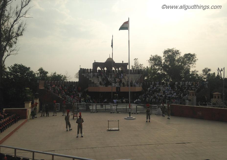 Indo- Pakistan; Hussainiwala Border; Firozpur