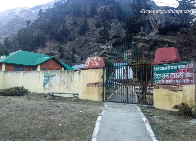 Wilson Forest Guest House at Harsil Village, Uttarakhand