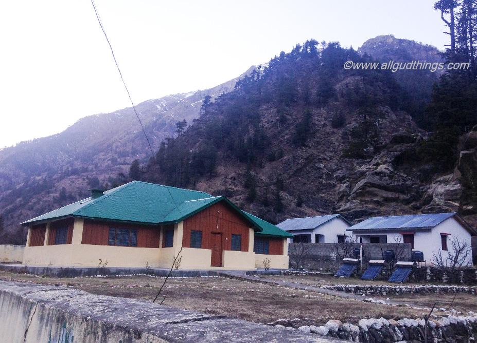 Wilson Mansion at Harsil Village in Uttarakhand