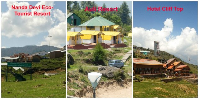 Hotels and Resorts at Auli: Auli in Summers