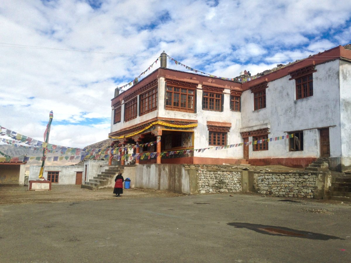 Monastery at Village Tujhske, near White Lake Tso Kar
