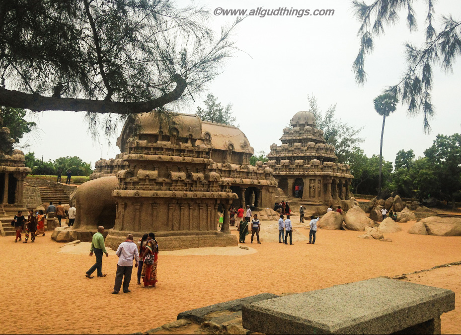 Panch Rathas: Mahabalipuram Travel guide