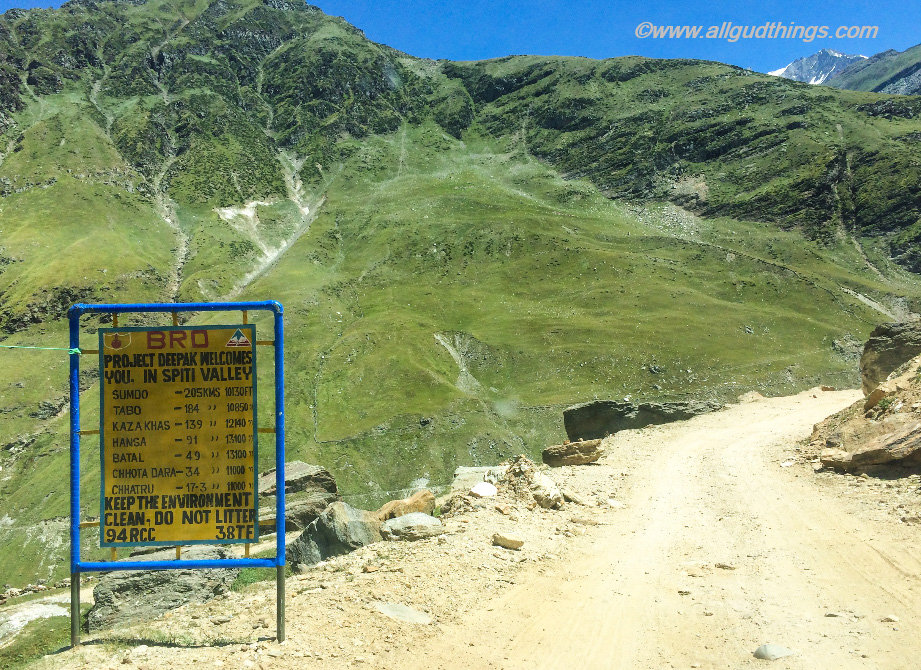 Way to Kaza from Manali: Travel guide for Lahaul Spiti Road trip