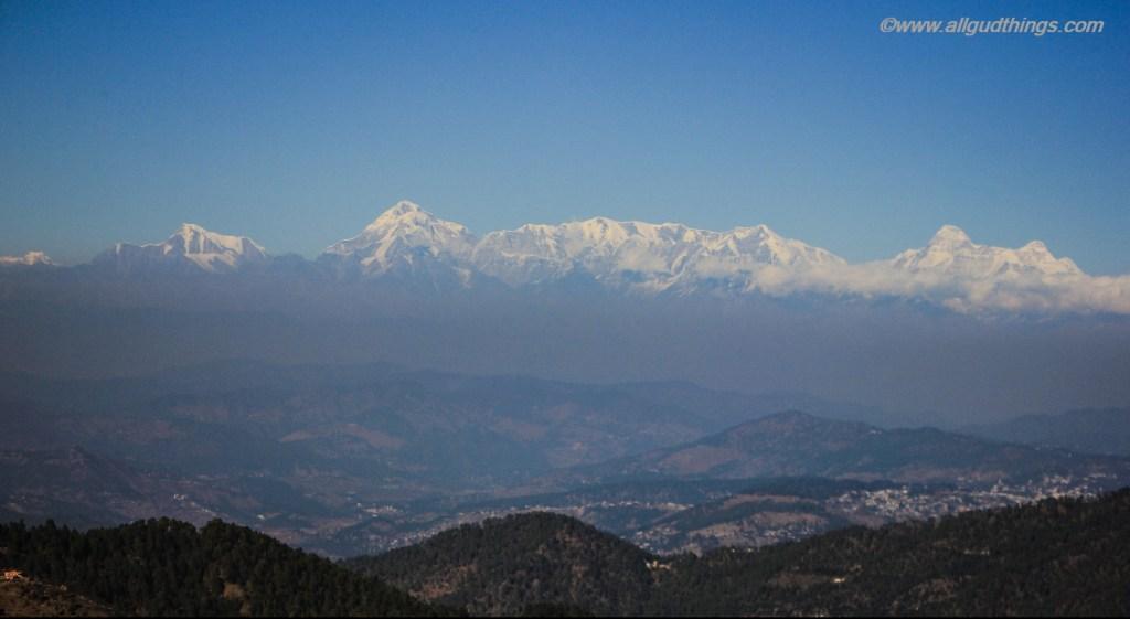 Himalayan Ranges - Mukteshwar Town