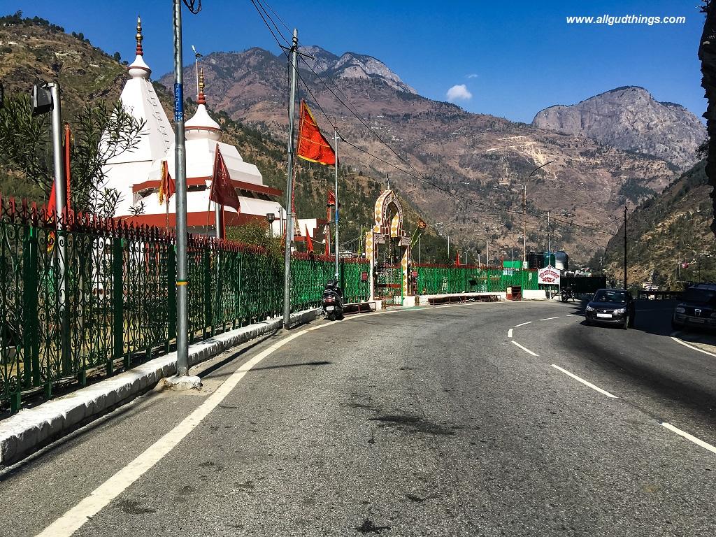 Entrance to Rampur Bushahr town: Padam Palace