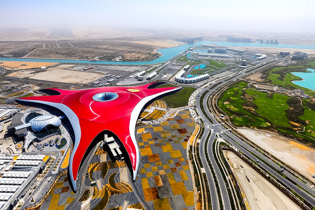 Ferrari World- Top attractions of Abu Dhabi