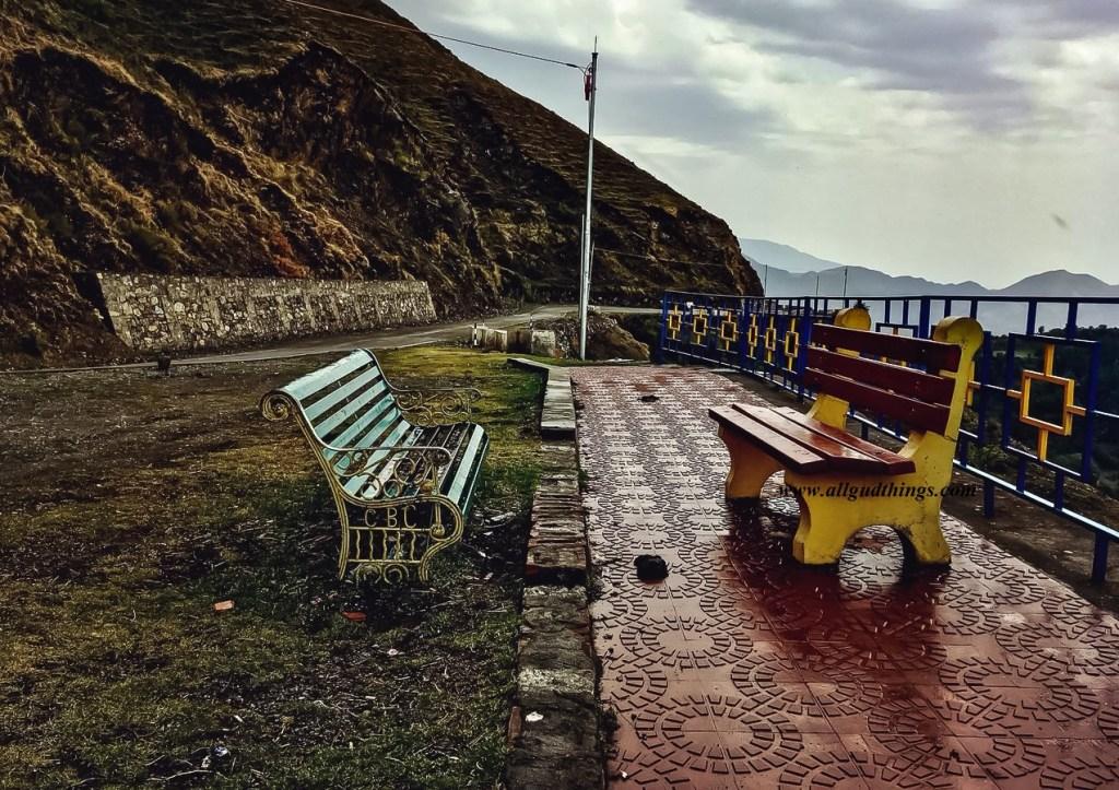 A Scenic spot at Chakrata in Uttarakhand