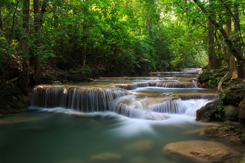 Erawan National Park - camping sites in Thailand
