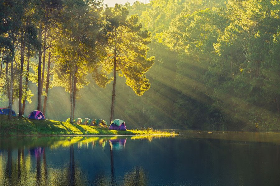 Pang Ung, Thailand- camping sites in Thailand
