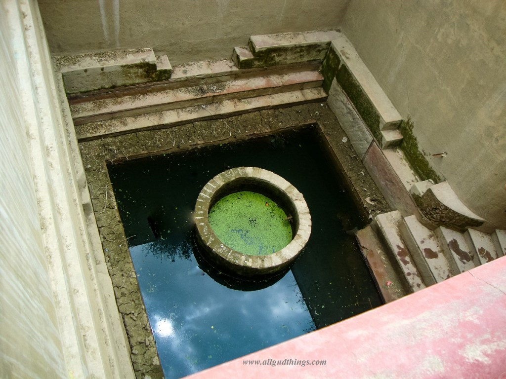 Lalita Kund or Well in Nidhivan in Vrindavan