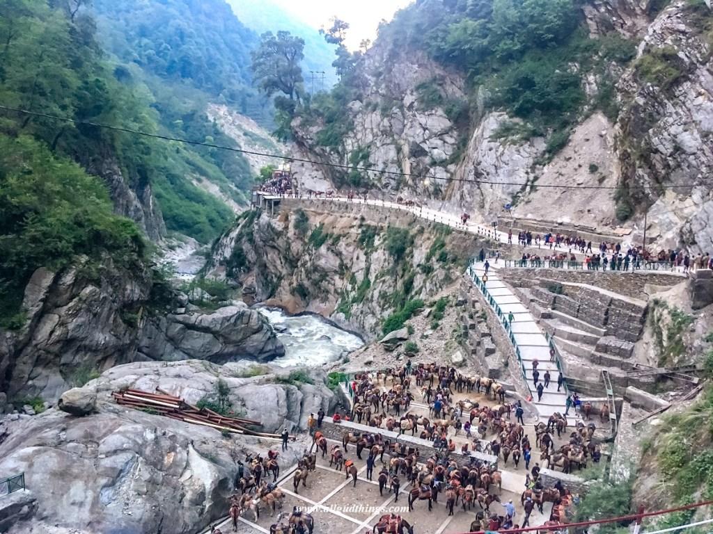 Track to Kedarnath from Gaurikund