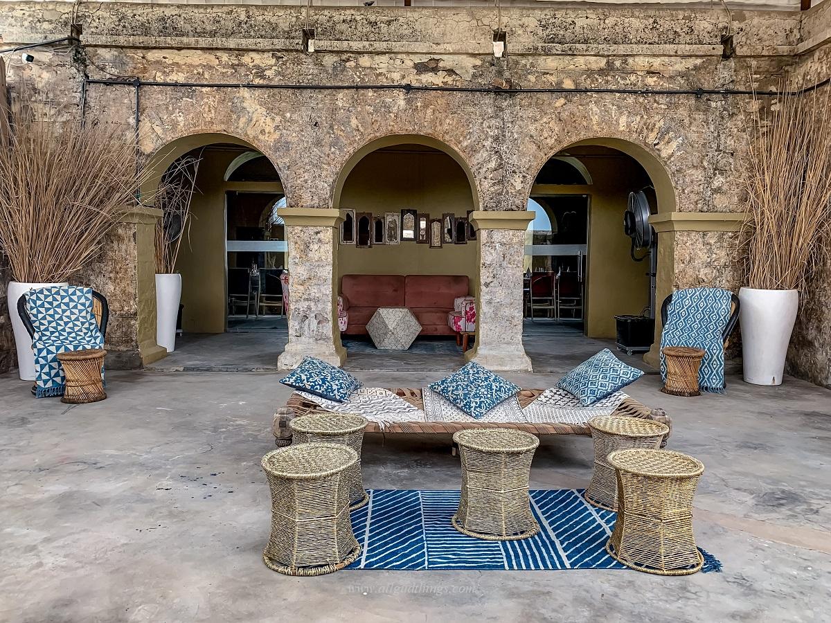 First Look of NACL Restaurant at Sambhar Heritage Resort