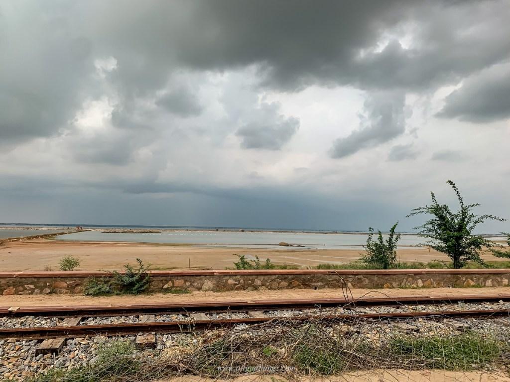 Narrow Gauge Train Track Passing Through Sambhar Heritage Resort