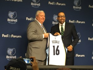 Memphis Grizzlies Chris Wallace David Fizdale