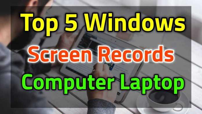Windows Screen Recording Software PC Download ?