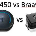 Scooba 450 vs Braava 380t – What are the Main Differences?