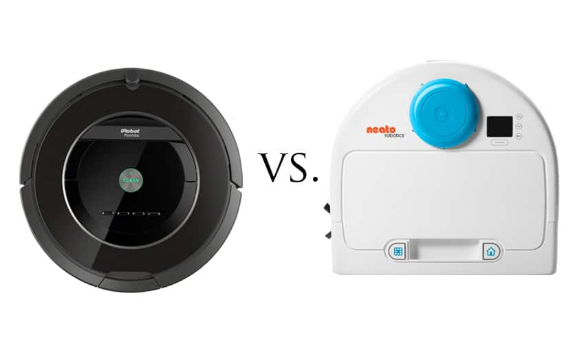 Neato Botvac 85 vs Roomba 880 - Two of the Best Robotic Vacuums Compared