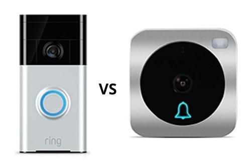 VueBell Smart Doorbell vs. Ring Video Doorbell