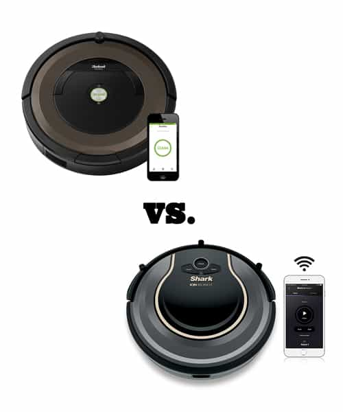 60d2078fb087 Shark Ion Robot 750 vs Roomba 890  Which Cleans Best
