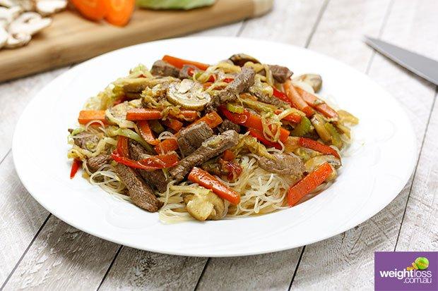 Beef And Mushroom Vermicelli