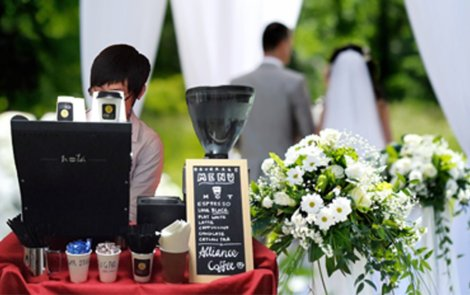 Alliance Coffee Wedding Mobile Coffee Service