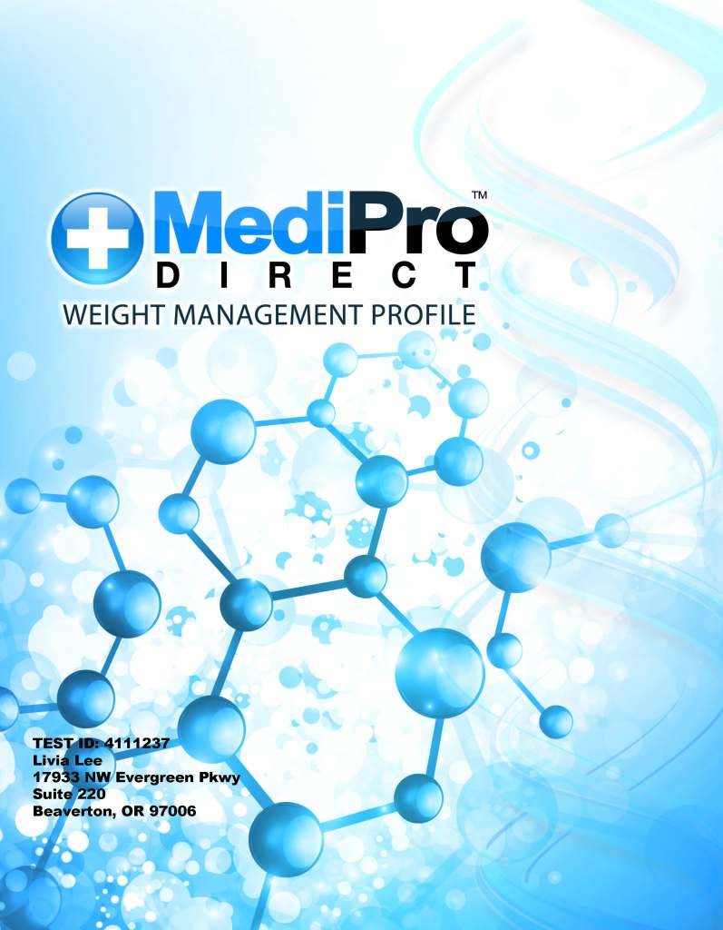 Weight Management Booklet Cover