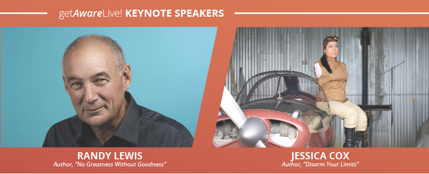 Award-Winning Authors Randy Lewis and Jessica Cox to Keynote at Alliance Enterprises' getAwareLive! conference
