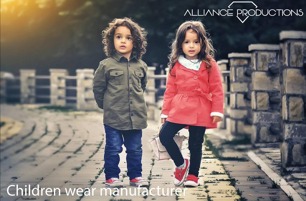 Kinderkleding productie - babykleding productie