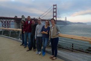 L'équipe de Front à San Francisco.  © Mathilde Collin.