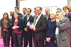 Les lauréats 2015 de la bourse Charles Foix. © Charlie Perreau