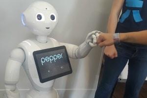 Pepper de SoftBank Robotics © Chad Garrison