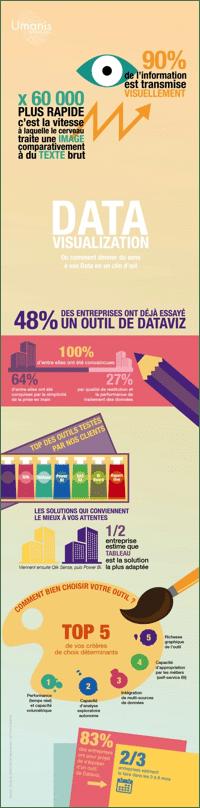 Infographie Datavisualisation : Où comment donner du sens à vos Data en un clin d'œil ?