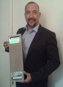 Le supercalculateur DGX-1 présenté par Serge Lemonde , directeur du développement commercial à Nvidia