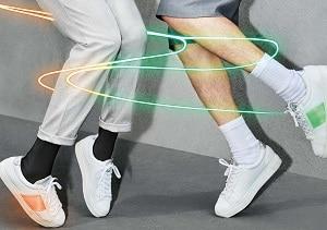 Une série limitée ! Les sneakers connectés, fabriqués dans les ateliers Eram de Montjean-sur-Loire (Maine-et-Loire), ont été produits uniquement à 150 exemplaires.
