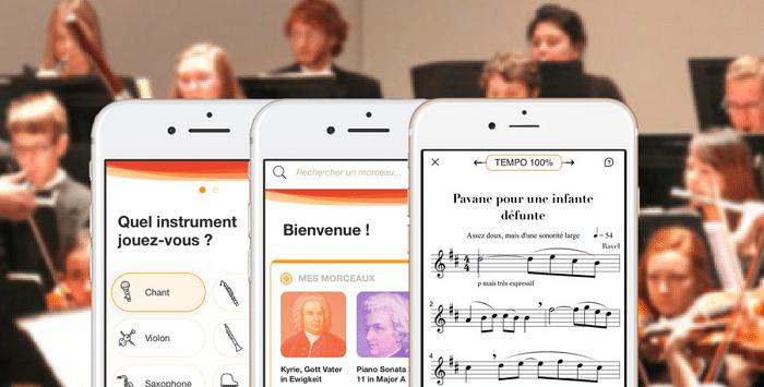 L'appli Metronaut : un orchestre pour votre poche, à votre écoute (200 morceaux de musique classique en catalogue).