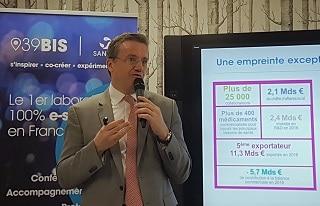 Pour Guillaume Leroy, président de Sanofi France, le digital va modifier le système de santé.
