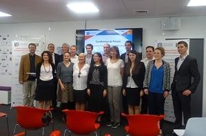 Une dizaine d'entreprises, comme Microtech Südwest (Allemagne) ou Mont-Blanc Industries (France), sont partenaires du projet IoT4Industry. ©DR
