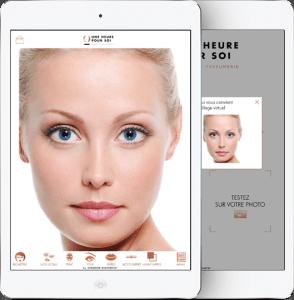 « Une heure pour soi » , du maquillage virtuel au diagnostic de peau