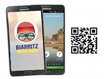 Biarritz Infoplages informe sur la qualité de l'eau de baignade en temps réel, mais permet aussi de transmettre une alerte en cas de constat d'un évènement particulier sur la plage.