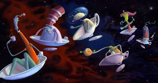 Flying Saucers 1920x975