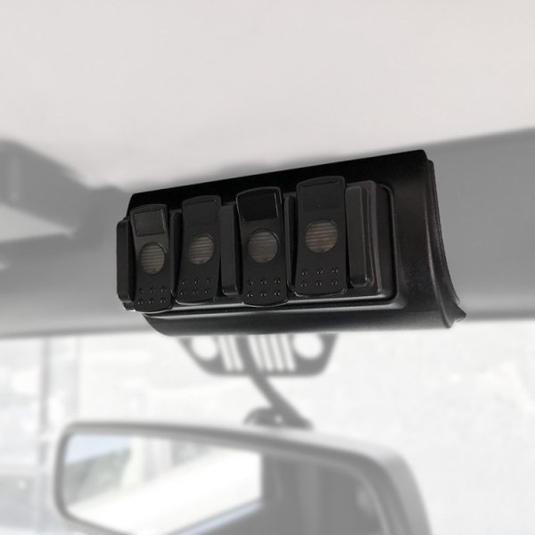 TRIGGER Jeep JK Overhead 4 Channel Remote Bracket