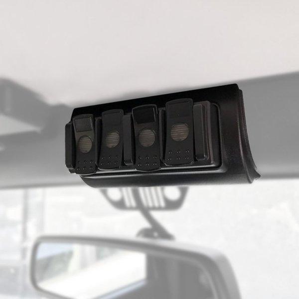 TRIGGER Jeep JK Overhead 4 Channel Remote Bracket