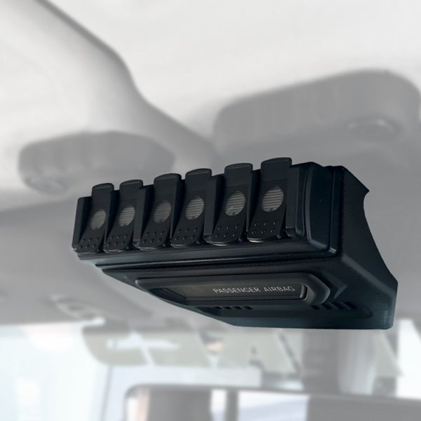 TRIGGER 6 SHOOTER Jeep JL Overhead RF Remote Mount 01