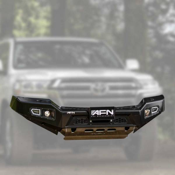 Land Cruiser AFN Front Bumper 01a :: Allied Expedition