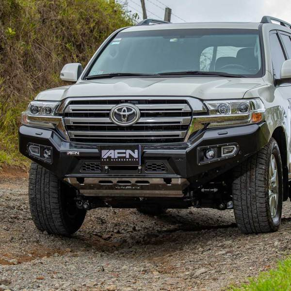 Land Cruiser AFN Front Bumper 02 :: Allied Expedition