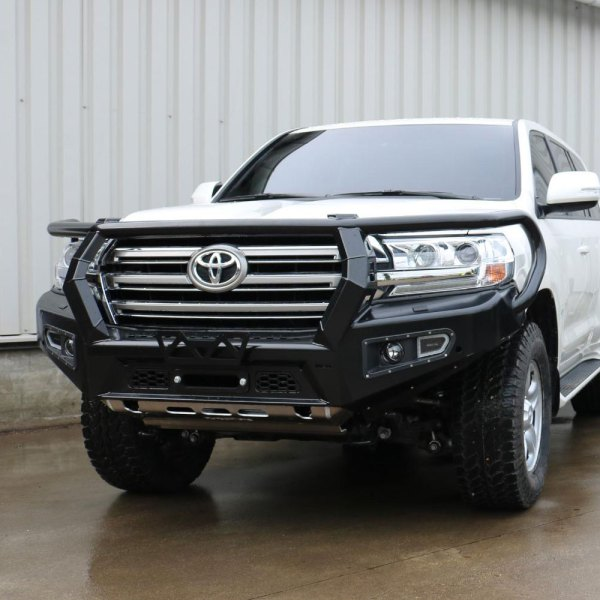 Land Cruiser AFN Front Bumper with Bull Bar 02 :: Allied Expedition