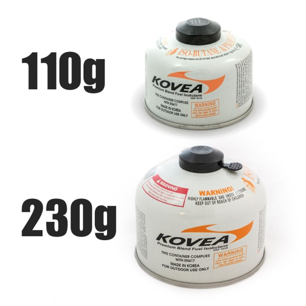 Screw-On Style Isobutane Canisters Both :: Allied Expedition