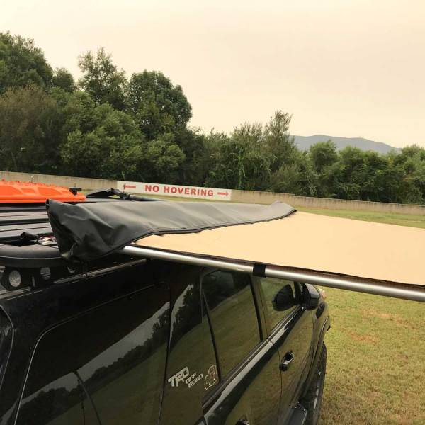 Retractable Roof Rack Awning :: 4Runner 03 :: Allied Expedition