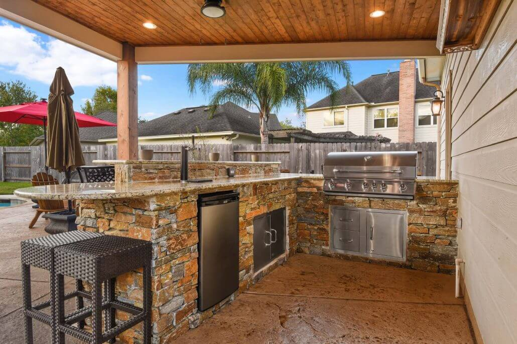 Allied Outdoor Solutions can help with your pergola and ... on Patio Kitchen  id=89208